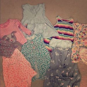 24 Month Carter Girl Spring/Summer Clothes